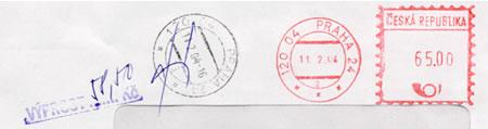 Zpravodaj 4/2004: Zajímavosti z poštovního provozu