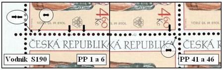 Zpravodaj 4/2005: Perforace známek České republiky (3)