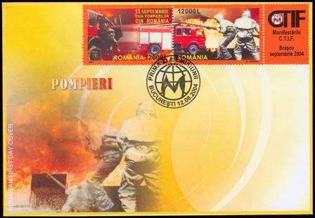 Zpravodaj č.8 - Požární ochrana ve filatelii