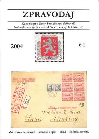 Zpravodaj SSČSZ SČF - 1/2004