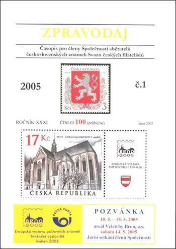 Zpravodaj SSČSZ SČF - 1/2005