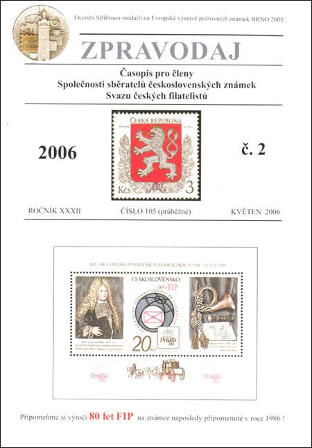 Zpravodaj SSČSZ SČF – 2/2006
