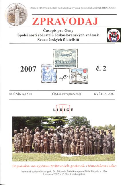 Zpravodaj SSČSZ SČF – 2/2007