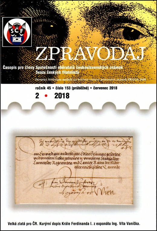 Zpravodaj SSČSZ SČF - 2/2018