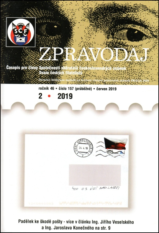 Zpravodaj SSČSZ SČF – 2/2019