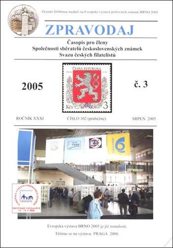 Zpravodaj SSČSZ SČF – 3/2005