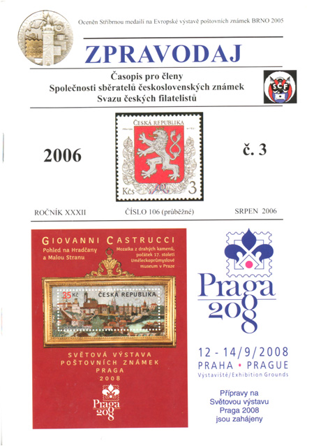 Zpravodaj SSČSZ SČF – 3/2006