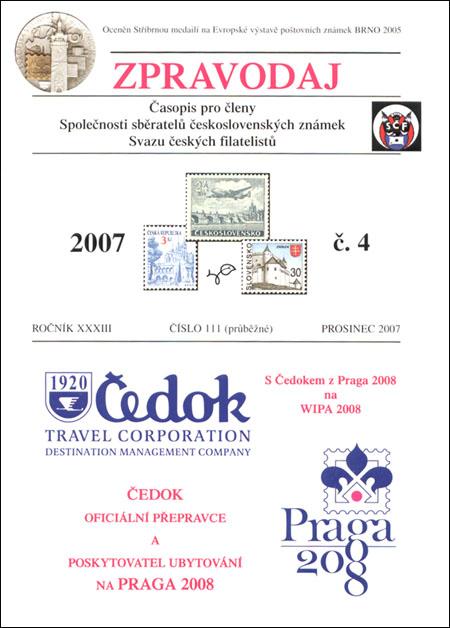 Zpravodaj SSČSZ SČF – 4/2007