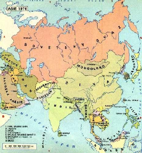 Ázia v roku 1914 (mapka) ázia v roku 1970 (mapka) ázia v roku 1976