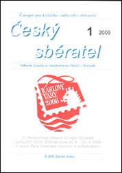 Úvodní stránka Českého sběratele